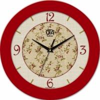 Настенные Часы Fashion Яркие Впечатления Red