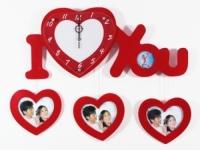 Настенные часы I Love You