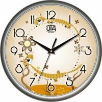 Настенные Часы Сlassic Парочка Тигрят Silver