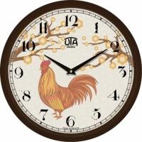Настенные Часы Сlassic Петух Black
