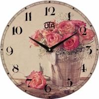 Настенные Часы Vintage Букет из Роз