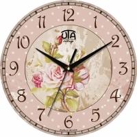 Настенные Часы Vintage Букет Роз