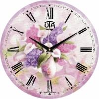 Настенные Часы Vintage Букет сирени