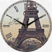 Настенные Часы Vintage Эйфелева башня