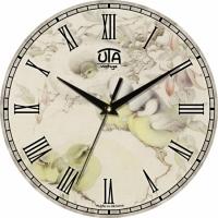 Настенные Часы Vintage Синички