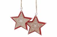 Новогоднее украшение Воздушная Звезда