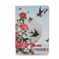 Обложка для паспорта Птички