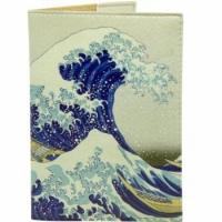 Обложка на паспорт Японская волна