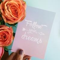 Фото Открытка За своей мечтой