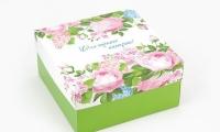 Фото Подарочная коробка Для хорошего настроения 20х20х10 см