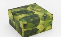 Фото Подарочная коробка Камуфляж 20х20х10 см