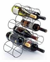 Подставка для бутылок металлическая