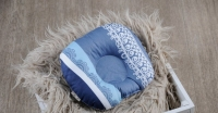 Фото Подушка для новорожденных Индиго