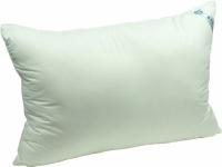 Подушка из наполнителя искусственного лебединого пуха 60х60 см тик