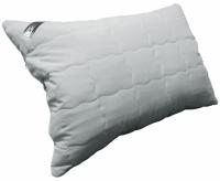 Подушка с наполнителем силиконовые шарики 50х70 см grey