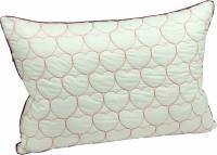 Подушка с наполнителем силиконовые шарики 50х70 см романтика