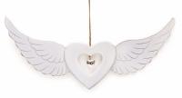 Подвесной декор Сердце с крыльями