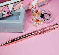 Ручка с глиттером Rose Gold