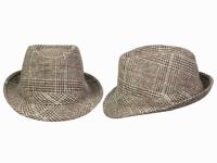 Шляпа Ален Демисезонная Breton  Brown