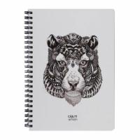 Скетчбук Crazy Sketches - Tiger (S) на пружине