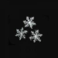 Снежинка декоративная 11х11см