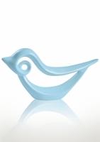 Статуэтка глянцевая Птичка голубая