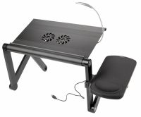 Столик для ноутбука YOKO VIP black