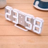Фото Светодиодные цифровые часы White clock
