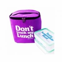 Термо Сумка Lunch Bag maxi Фиолетовая