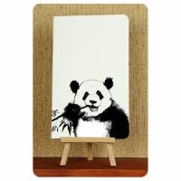 Тетрадь Панда черно-белые зарисовки 2