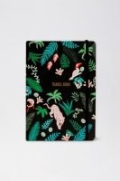 Travel book jungle Parrot (черный)