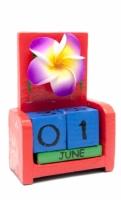 Вечный Календарь Цветок Red