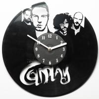 Виниловые часы Coldplay