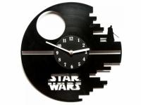 Виниловые часы Death Star