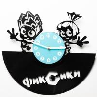 Виниловые часы Фиксики