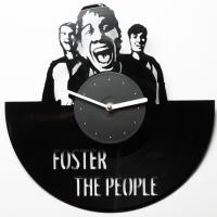 Фото Виниловые часы Foster the People