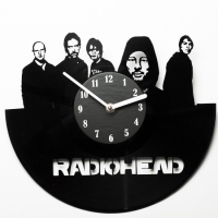 Виниловые часы Radiohead