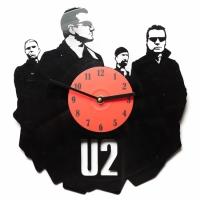 Фото Виниловые часы U2