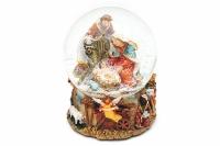 Водяной шар Рождественская композиция