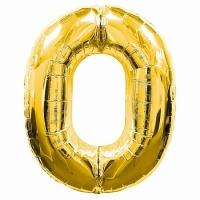 Воздушный шарик цифра 0