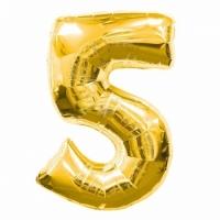 Воздушный шарик цифра 5