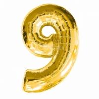 Воздушный шарик цифра 9