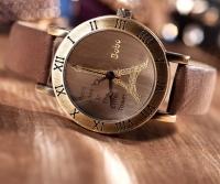 Женские классические часы CL Paris Brown
