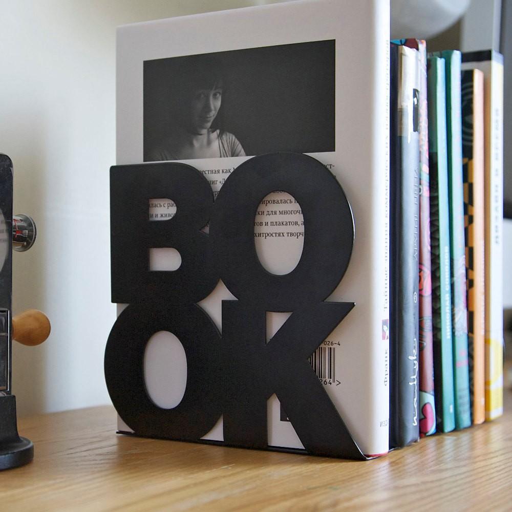 упор для книг book