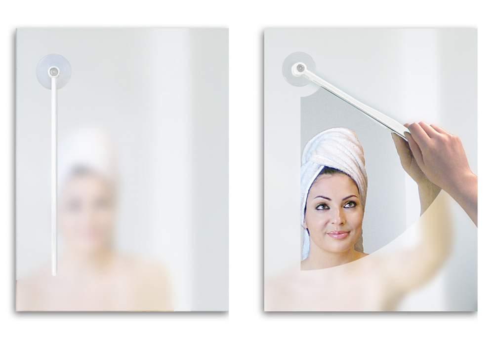 дворник для зеркала в ванной комнате