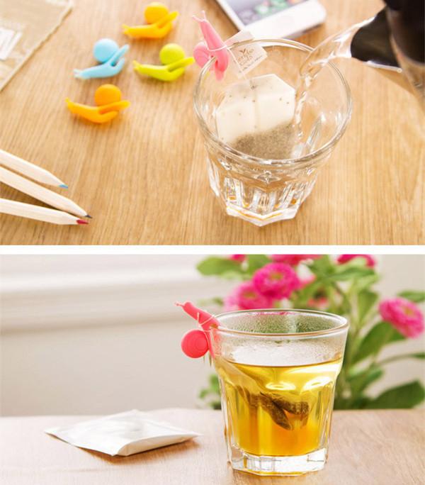 улитка - держатель чайных пакетиков