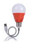лампочка usb светильник красный