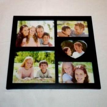 Фото - Фоторамка Family на 6 фото 49*33 купить в киеве на подарок, цена, отзывы