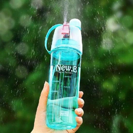 80aa91746a33 ... отзывы · фото 22330 Спортивная бутылка для воды с распылителем New B  blue цена, ...
