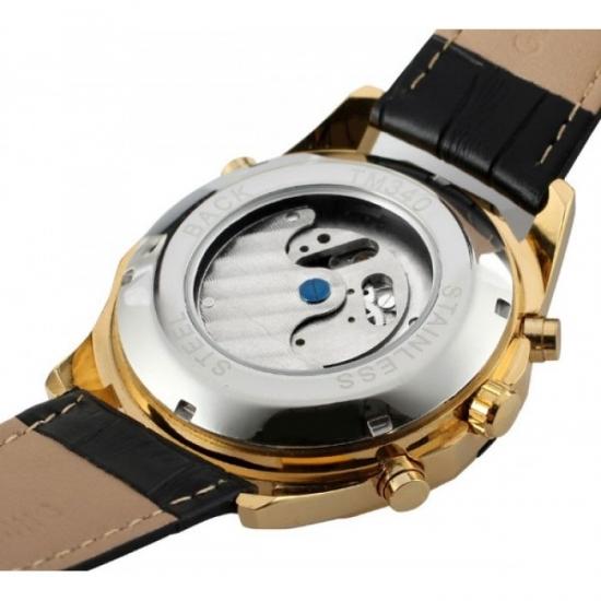 5492fe05faa1 ... отзывы · фото 14579 Мужские классические часы Forsining Texas Gold цена,  ...